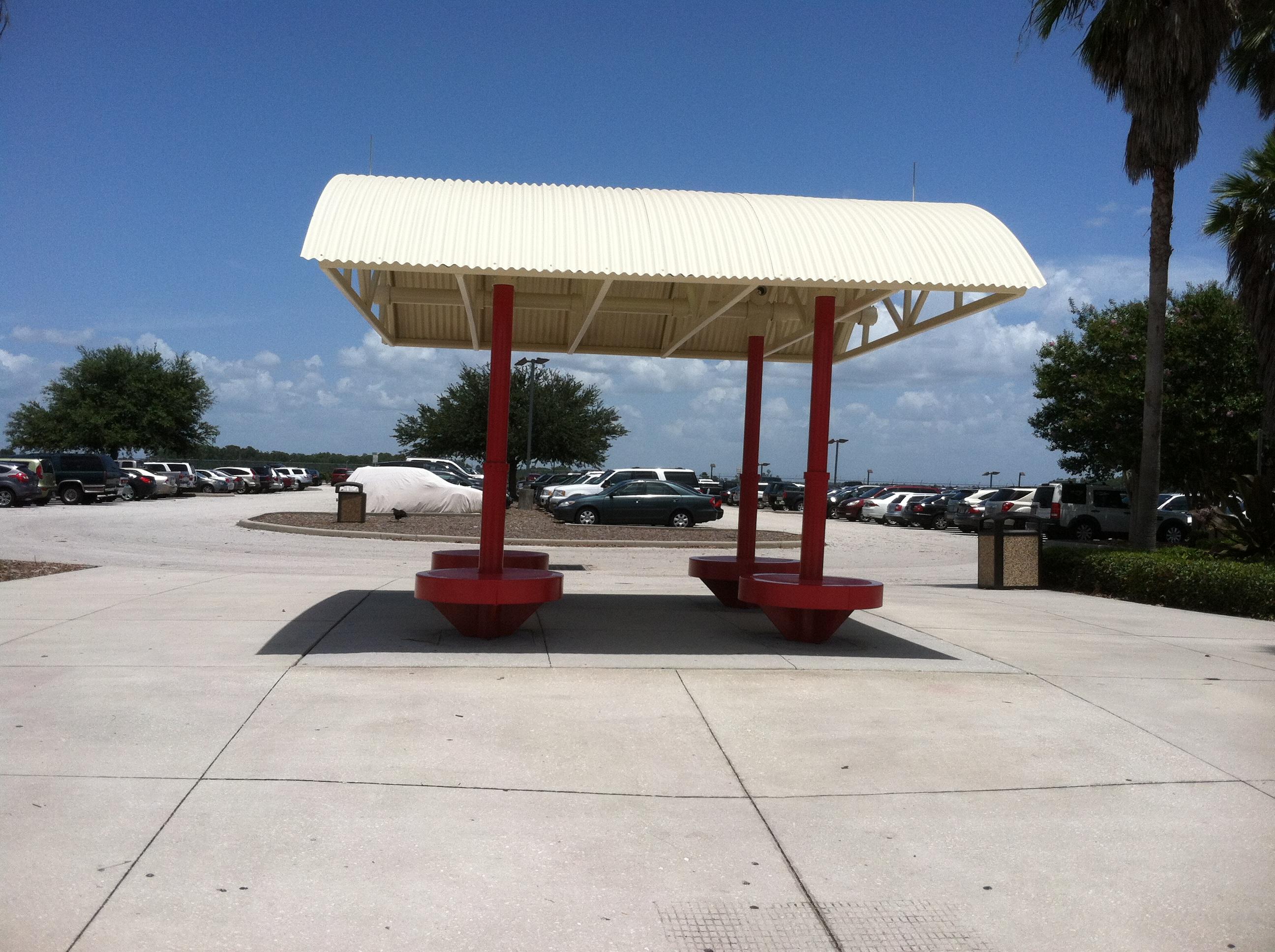 Orlando Intl Airport - Bus Stop
