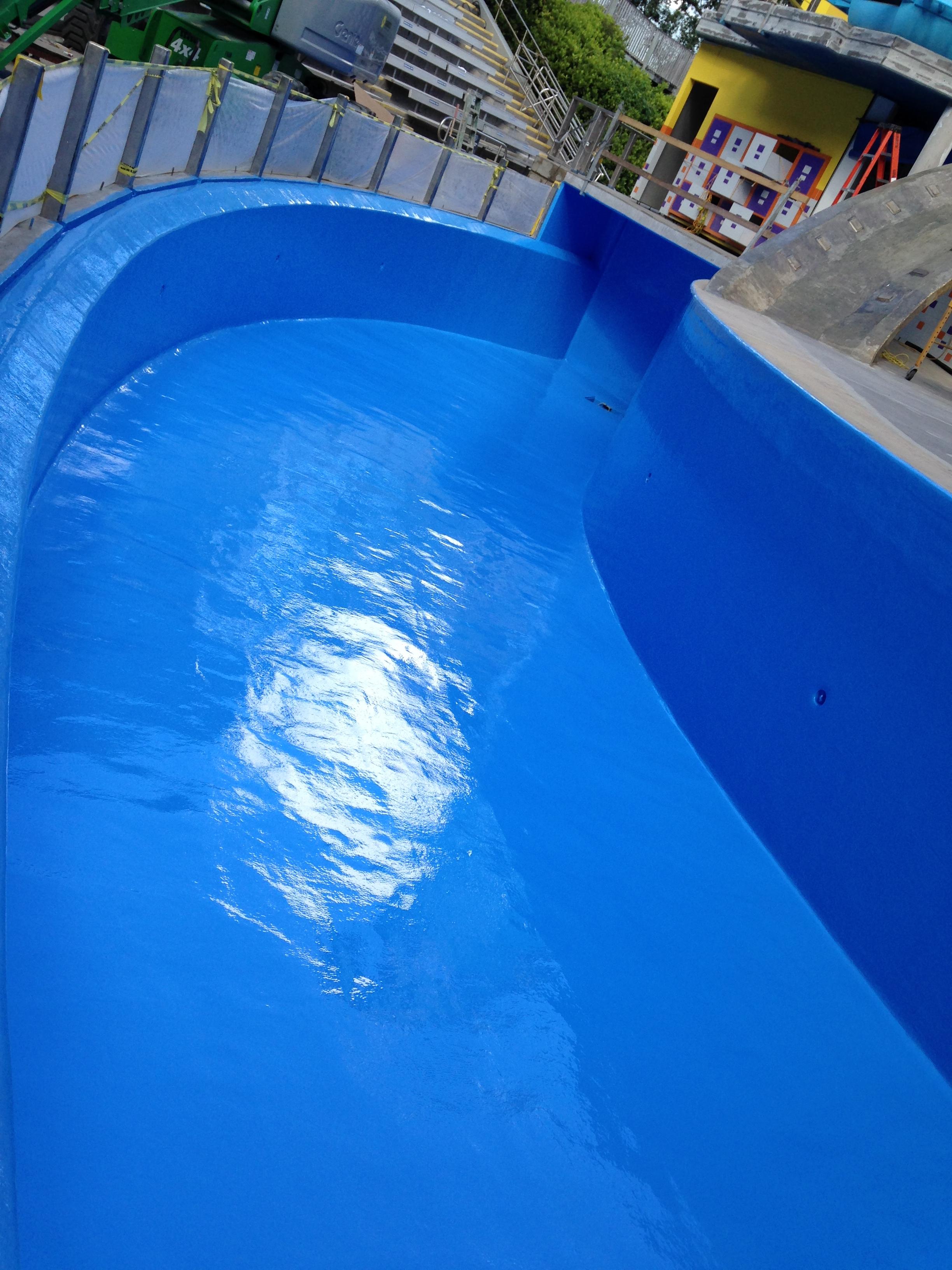 After Hotspray Waterproofing