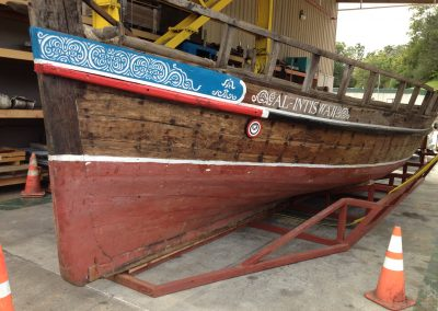 Viking Boat - Polyurea Coatings
