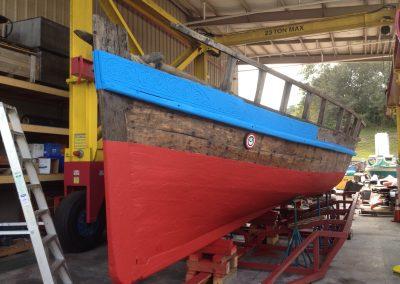 Polyurea Coatings - Viking Boat